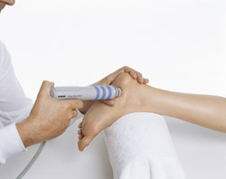 Sonic Shockwave Treatment for heel pain